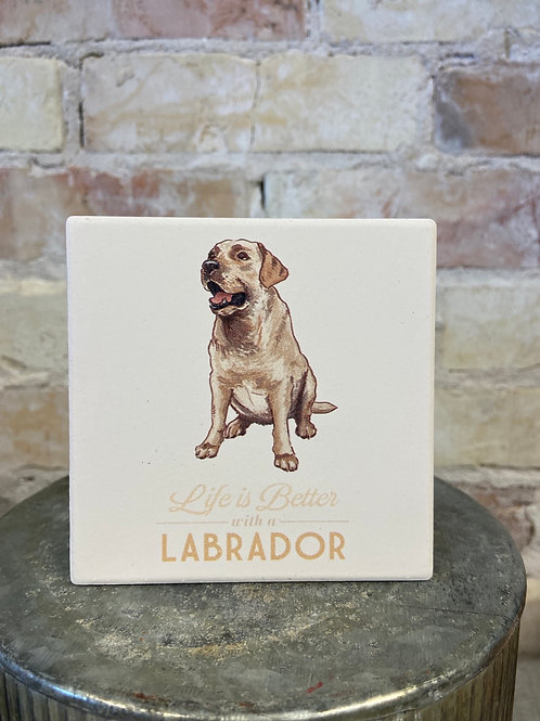 Life is better with a Labrador (Yellow)