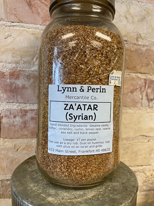 Za'atar Syrian