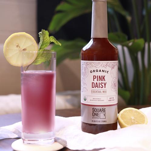 Pink daisy organic cocktail mixer