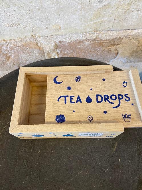 Tea Drops Wooden Gift Box