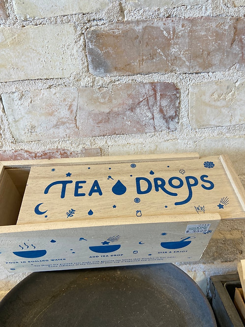 Tea Drops Lg. Wooden Gift Box