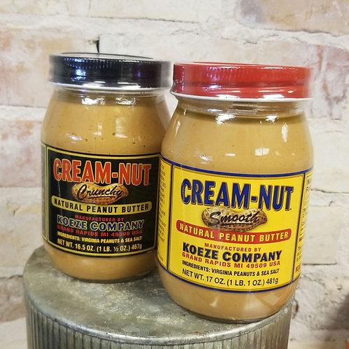 Koeze Cream-Nut Peanut Butter