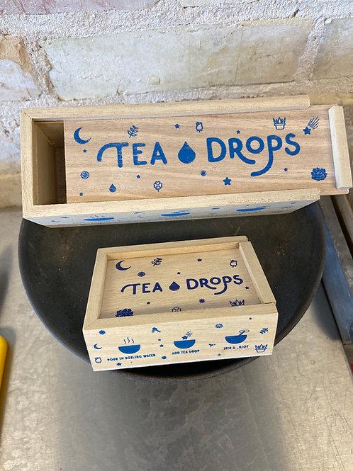 Tea Drops Med. Wooden Gift Box
