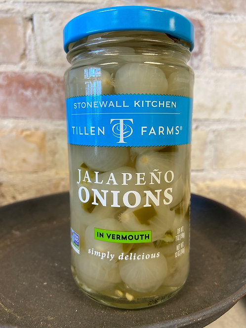 Tillen Farms Jalapeño Onions in Vermouth