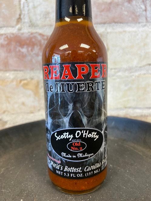 Scotty O' Hotty Reaper de Muerte Hot Sauce
