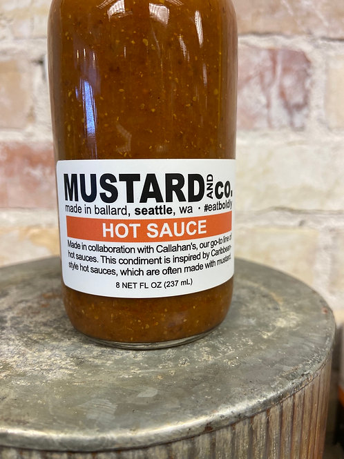 Mustard and co. Hot Sauce
