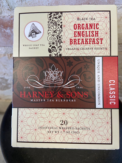Harney & Sons Organic English Breakfast