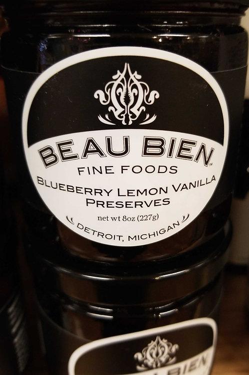 Beau bien, Detroit: blueberry lemon vanilla preserves