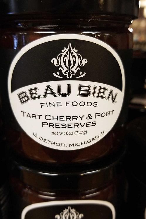 Beau bien, Detroit: tart cherry and port preserves
