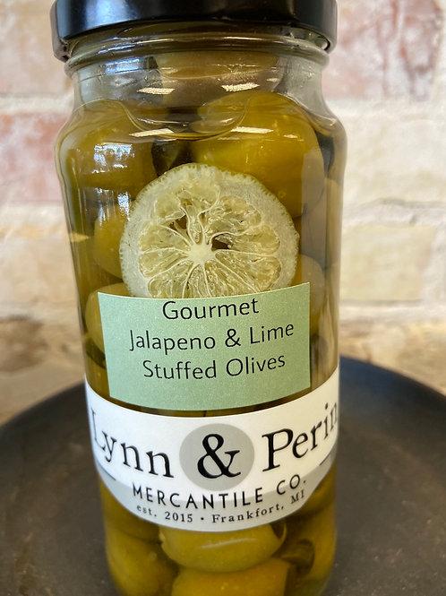Gourmet Jalapeño Lime Stuffed Olives