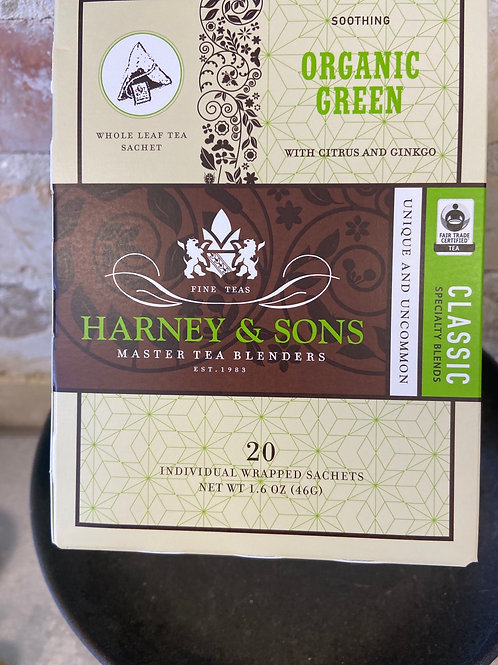 Harney & Sons organic Green Tea