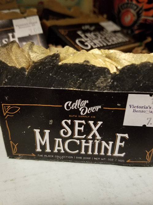 Cellar Door Soap. Sex Machine