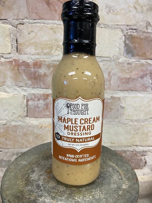 Food For Thought Maple Cream Mustard Dressing