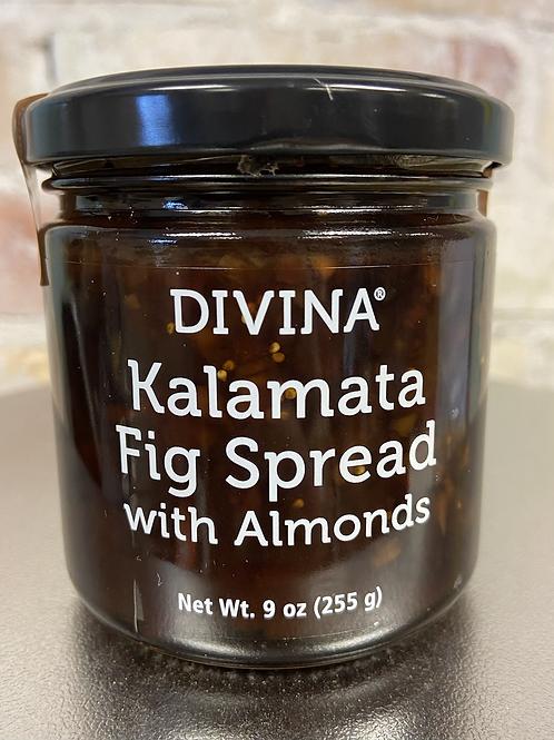 Divina Kalmata Fig Spread W/ Almonds