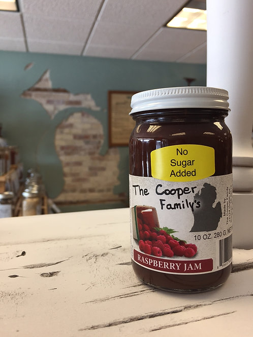 The Cooper Family - Raspberry Jam (No Sugar Added)