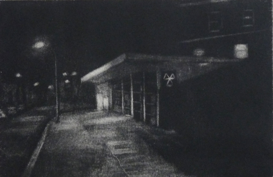 Nightwalk, Geoffrey Road, 2015