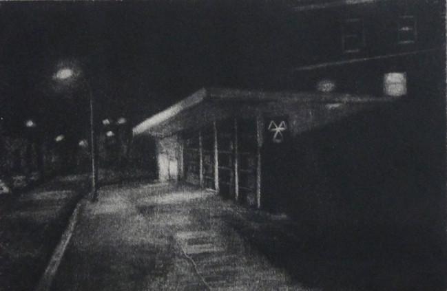 Nightwalk, Geoffrey Road, 2015