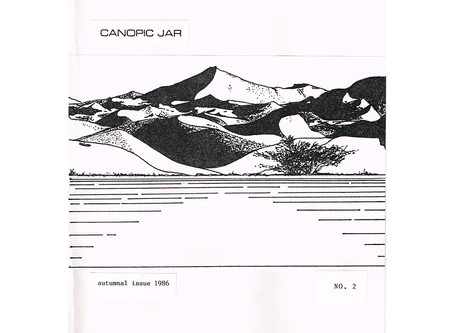 Early Canopic Jar: Hal's Drawings