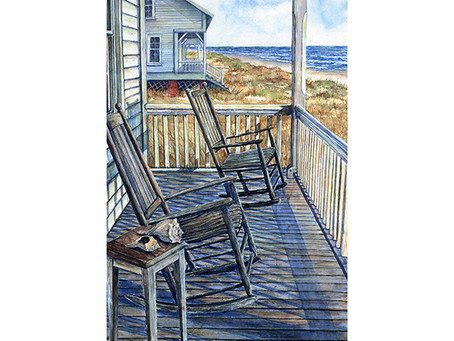 "Sarah Hasty Williams: ""Captain Charlie's Porch"""