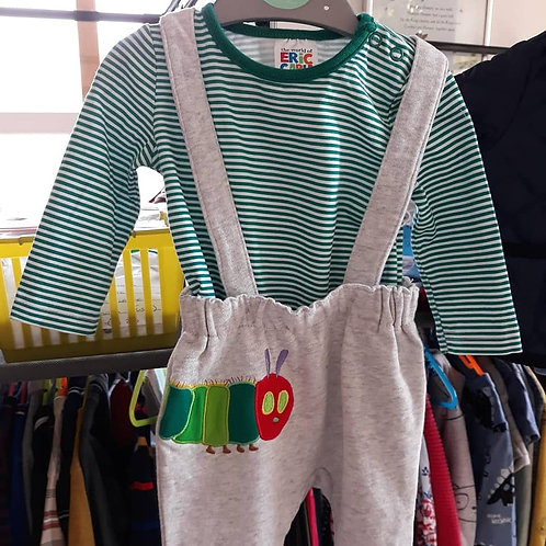 3-6 MONTH CATERPILLAR OUTFIT