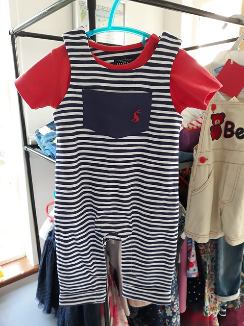 0-3 MONTH JOULES TWO PIECE