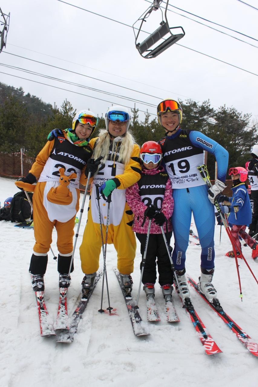 2016 대한동계스포츠포럼 가족 스키대회