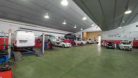 Instalaciones taller mecánico coche