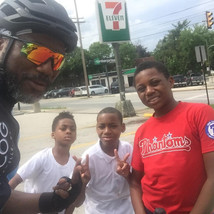 """Pastor """"rides into"""" some of our youth"""