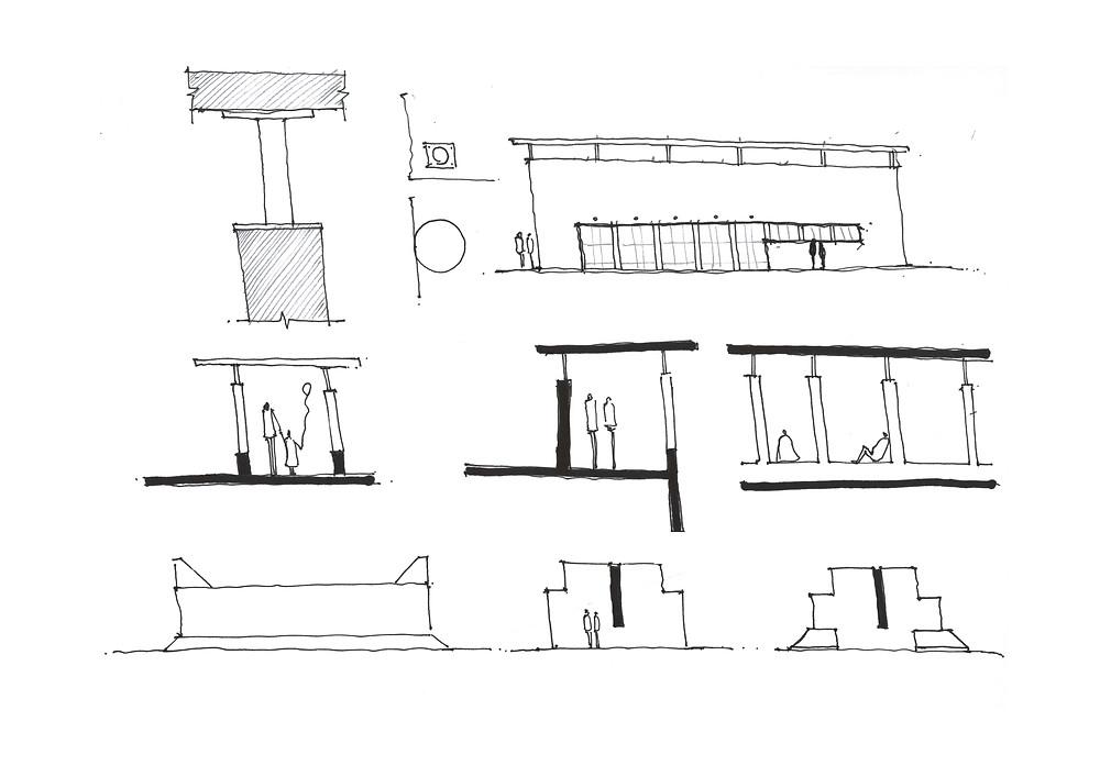 Gymnasium by Snozzi