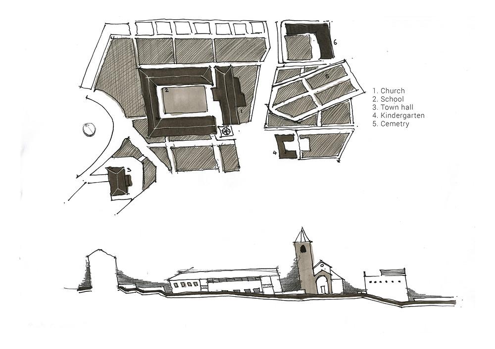 Monte Carasso's Master Plan by Snozzi