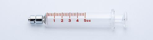 Standard Epidural 5cc Luer Lock Syringe.