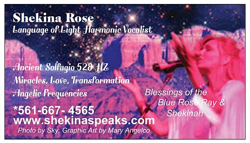 Hear a Love Song from Venus/Heart Healing in an Angelic language