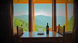 Cabin view at Puesta del Sol