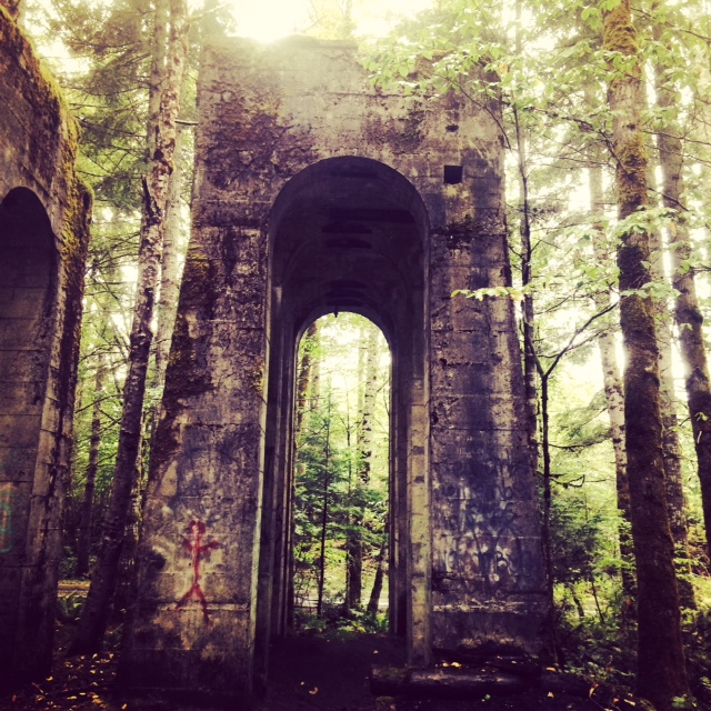 Modern Ruins on Vancouver Island
