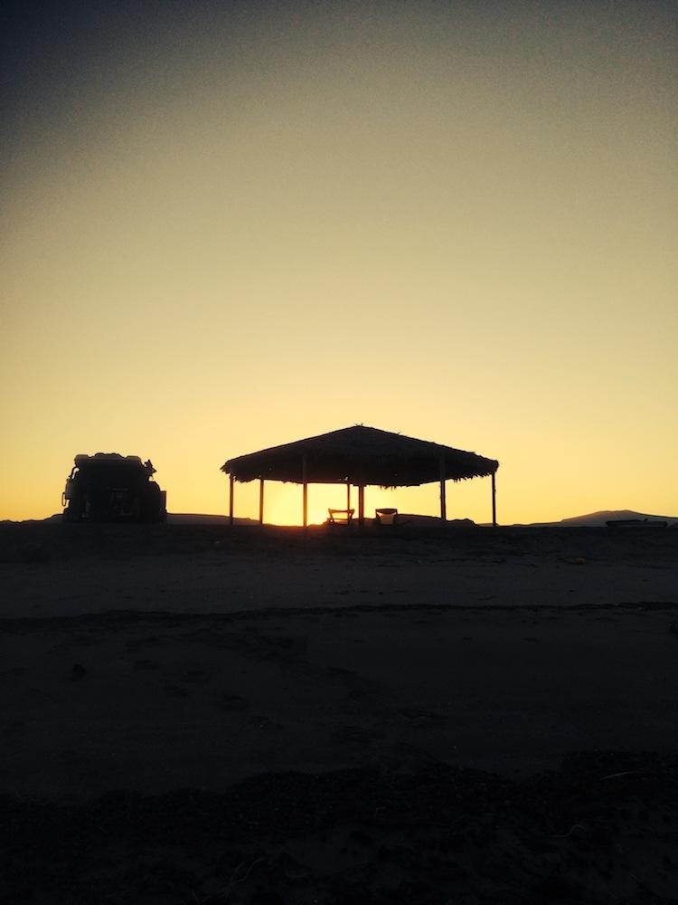 Gonzaga Bay sunset