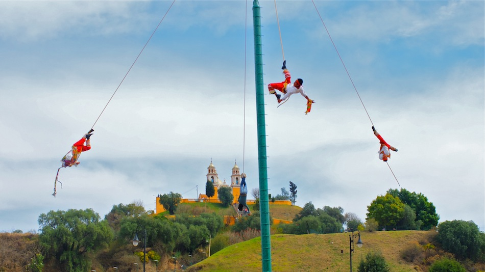 The Danza de los Voladores