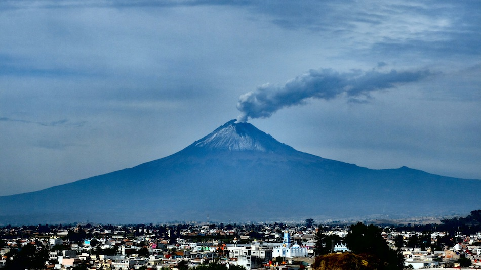 Volcano Popocatépetl