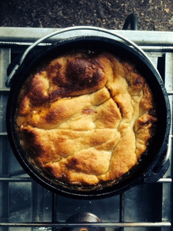Finished Indian Pot Pie