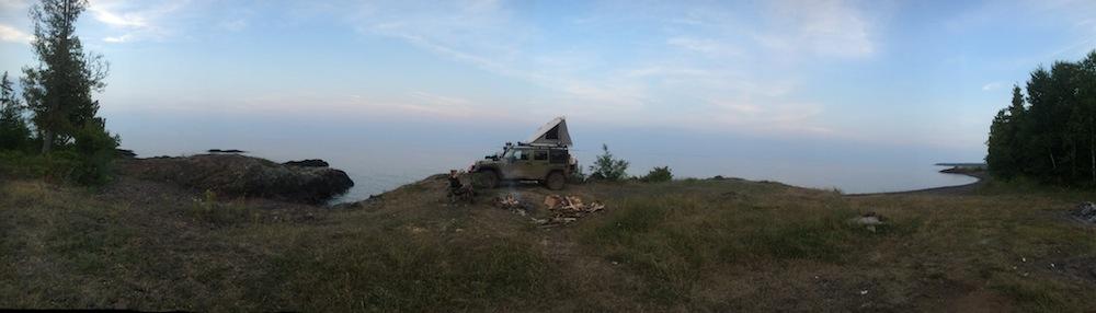 High Rock Bay Panoramic View