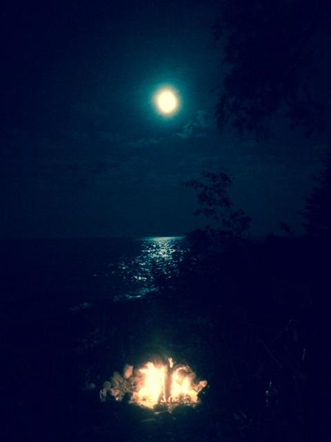 High Rock Bay Camp spot