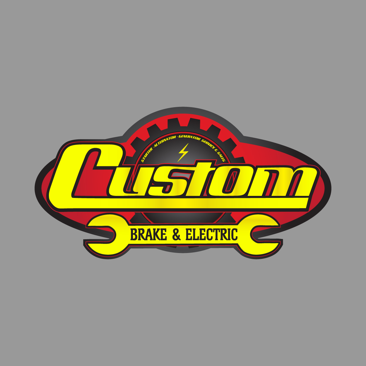 CustomBrakeElectric Logo