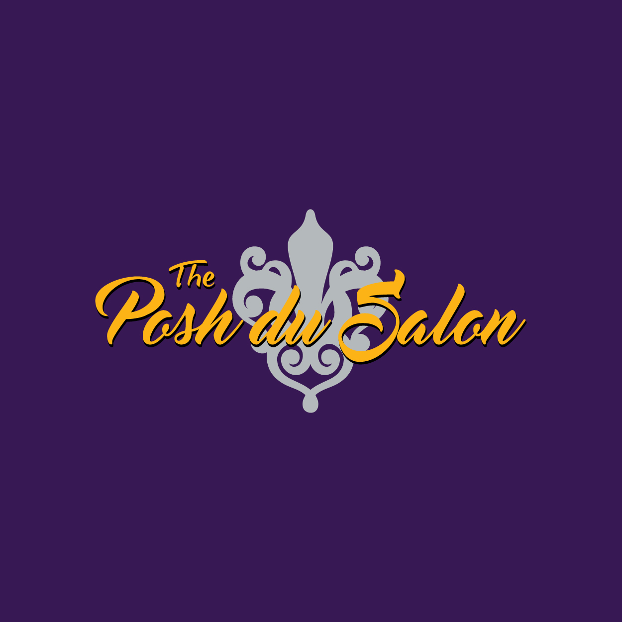 PoshduSalon Logo