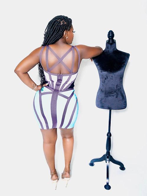 CROSS MY BODY - Dress
