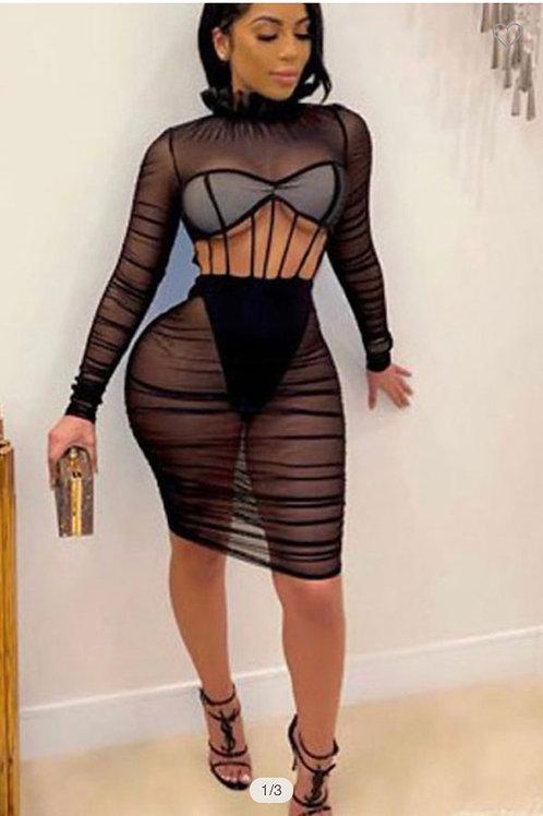 SEE THRU YOU - Dress