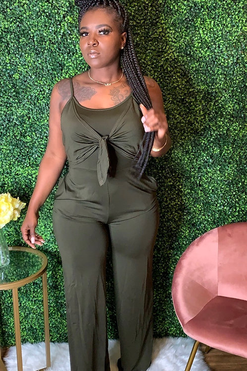 STACY JUMPSUIT - Olive