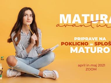 Preveri programe in se prijavi na Maturo avanturo!