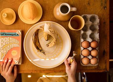 Ješ zajtrk?