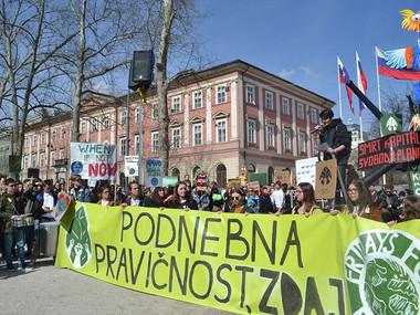 KŠOC na Podnebnem štrajku: skupaj lahko dosežemo več!