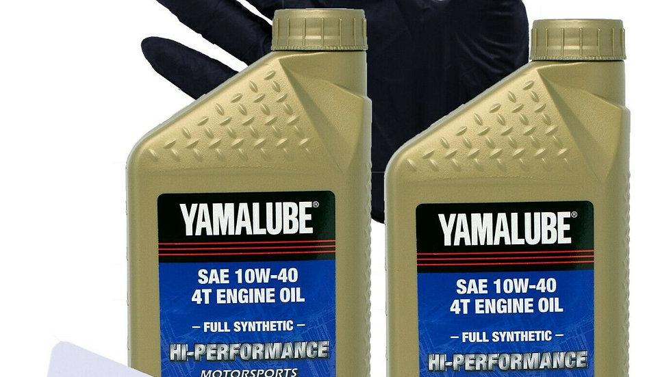 2006 - 2020 Yamaha Raptor 700 Sport ATV Oil Change Kit (Full-Synthetic)