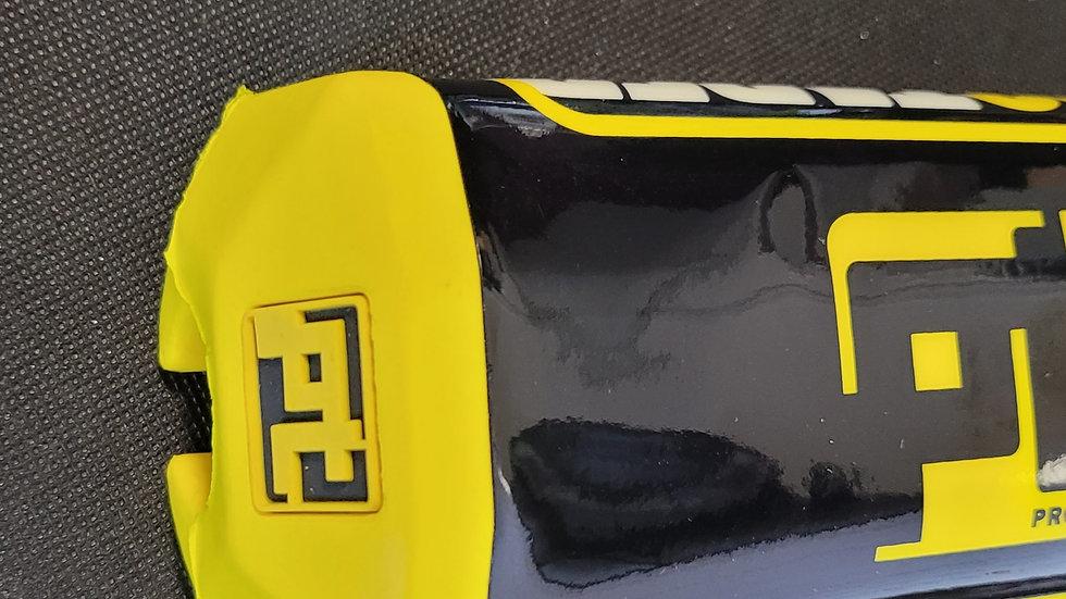 Yellow Pro taper handlebar cover